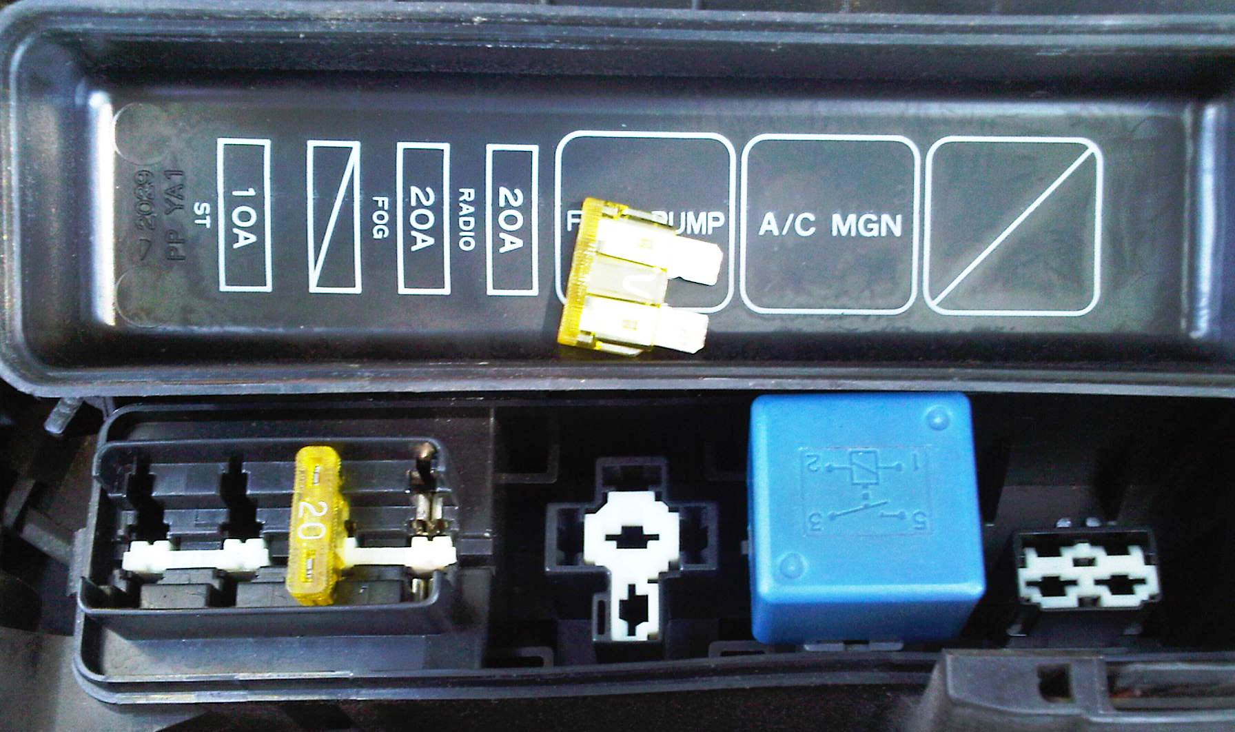 August 2010 The Midnight Engineer How To Test Car Fuse Box With Multimeter Reading On Dropped From 059 A 003